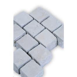 Seltra Kalkstein Pflastersteine VIA CORONA -antik-, 10x10x8cm creme-beige