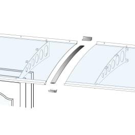 Scobalit Verbindungsset Vordach passend zu Pultvordach PT/G PT/GR PT/ET