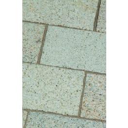 Seltra Granit Pflasterplatten SOL AMBIENTE -gestockt-, 30x20x6cm gelb-grau