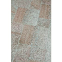 Seltra Granit Terrassenplatten SOL EXACTA -geflammt-, 40x40x3cm rötlich-gelb-grau