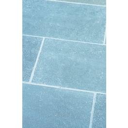 Seltra Kalkstein Terrassenplatten MARRAKESCH GRAU-BLAU EXACTA, 80x40x3cm grau-blau