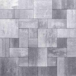 Panther Garden & Living - Betonpflasterstein Set Tivoli hellgrau-anthrazit-nuanciert schmal