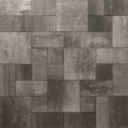 Panther Garden & Living - Betonpflasterstein Set Tivoli anthrazit-grau-nuanciert schmal