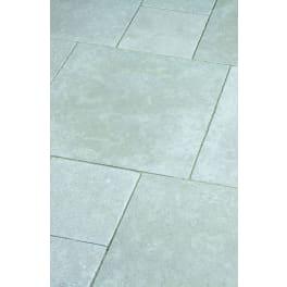Seltra Kalkstein Terrassenplatten VIA CORONA -antik-, 29,5x29,5x3cm creme-beige