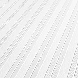 A.S. Création Streifentapete 951212 Meistervlies Vliestapete weiß