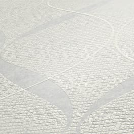 A.S. Création geometrische Tapete 956821 Meistervlies Vliestapete weiß