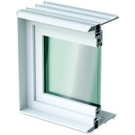 ACO Therm Leibungsfenster 36,5 cm tief 3-Fach Verglasung