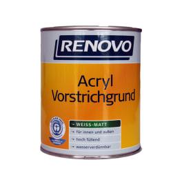 Renovo Acryl Vorstrichgrund weiss 2,5 Liter