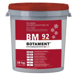 Botament BM 92 Bitumen Dickbeschichtung 2K Winter 28 kg Gebinde
