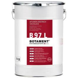Botament B 97 L Bitumen-Anstrich/Dachlack 10 Ltr. Eimer