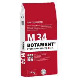 Botament M 34 Dichtschlämme betongrau 25 kg Sack