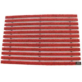 Schuhabstreifer 100 x 50 cm Rot