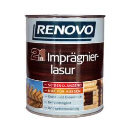Renovo Imprägnierlasur 2 in 1 teak 2,5 Liter