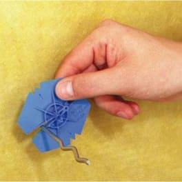 Iso-Clip Klemmscheiben für Luftschichtanker