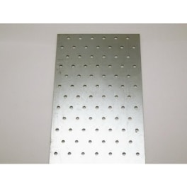 Lochplattenstreifen 80 x 1200 x 2,0 mm verzinkt