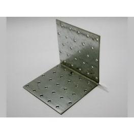 Lochplattenwinkel 100 x 100 x 100 x 2,0 mm verzinkt