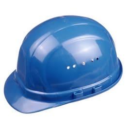 Schutzhelm blau mit Belüftung