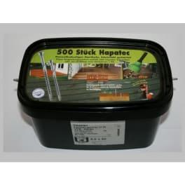 Terrassenschrauben Hapatec Inox 5,0 x 60 mm