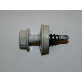 Trapezblechschraube RAL9010 4,8 x 20 mm