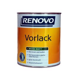 Renovo Vorlack weiss 2,5 Liter