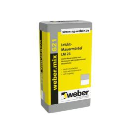 Weber.mix 621 M5 Leicht-Mauermörtel LM21 1 Palette mit 45 x 17.5 kg Sack