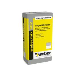 Weber.mix 662 M10 Zargenfüllmörtel 1 Palette mit 42 x 30 kg Sack naturgrau