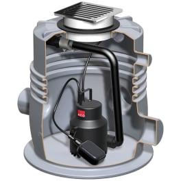 ACO Kleinhebeanlage Sinkamat-K Typ 50/2-K mono mit Schlitzrost