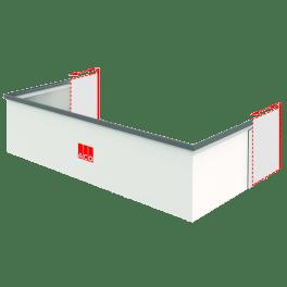 ACO Aufstockelement 125 x 80 cm