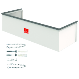 ACO Aufstockelement 100x27,5x40 cm begehbar Fix inkl. Montageset