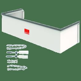 ACO Aufstockelement 125x27,5x60 cm befahrbar Fix inkl. Montageset