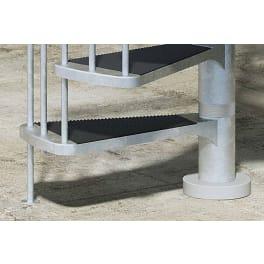 DOLLE Zusatzstufe Trimax für Aussentreppe Gardenspin, Ø 125 cm