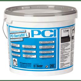 PCI Barrafill L Zementgebundener Feinspachtel 20 kg Eimer dunkelgrau