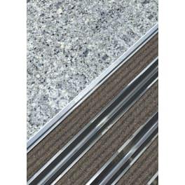 Schuhabstreifer 100 x 50 cm Blaugrau