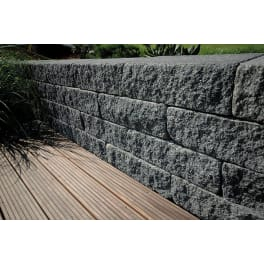 EHL BossAntik Light 50/18/15 Anfangs-/Endstein basalt-anthrazit 3-seitig