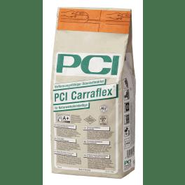 PCI Carraflex Verformungsfähiger Dünnbettmörtel 5 kg Beutel weiss