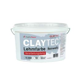 CLAYTEC Lehmfarbe Reinweiss 10 l