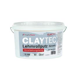 CLAYTEC Lehmrollputz Reinweiss 10 l