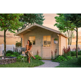 SKAN HOLZ Gartenhaus Como