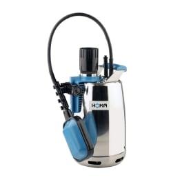 HOMA CR 253 WA Edelstahl-Tauchmotorpumpe mit Mantelkühlung für Klar- und Schmutzwasser