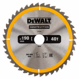 DeWalt Kreissägeblätter für Handkreissägen 190x30- DT1945-QZ