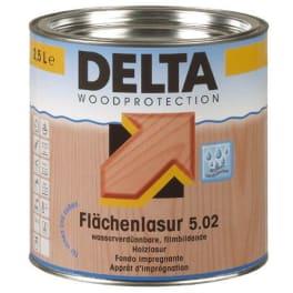 Dörken Delta Flächenlasur 5.02 weiss - 2,5 Liter