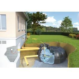 Rewatec 3000 L Gartenanlage NEO Basic RETENTION
