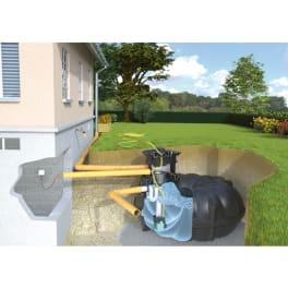 Rewatec Regenwassertank Gartenanlage NEO Eco 1500 Liter befahrbar