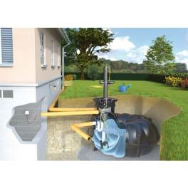 Rewatec Regenwassertank Gartenanlage NEO Premium 1500 Liter