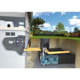Rewatec Hausanlage Diver F-LINE Typ 1500