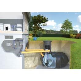 Rewatec Regenwassertank Hausanlage NEO Diver 10000 Liter