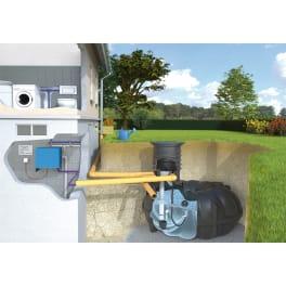 Rewatec Regenwassertank Hausanlage NEO McRain 3000 Liter befahrbar