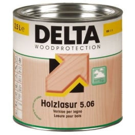 Dörken Delta Holzlasur plus 5.06 walnuss - 2,5 Liter