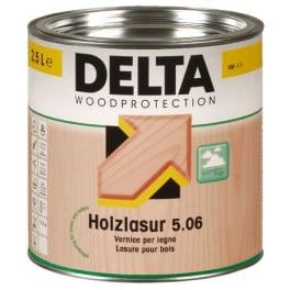 Dörken Delta Holzlasur plus 5.06 weiss - 2,5 Liter