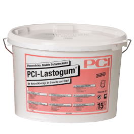 PCI Lastogum Wasserdichte, flexible Schutzschicht 15 kg Eimer weiss